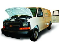 GM Debuts CNG Vans at Green Fleet Conference