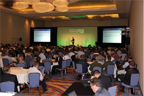 Keynote speeches were presented to packed rooms, and included forecasting on hybrid, plug-in electric, and natural gas truck markets.