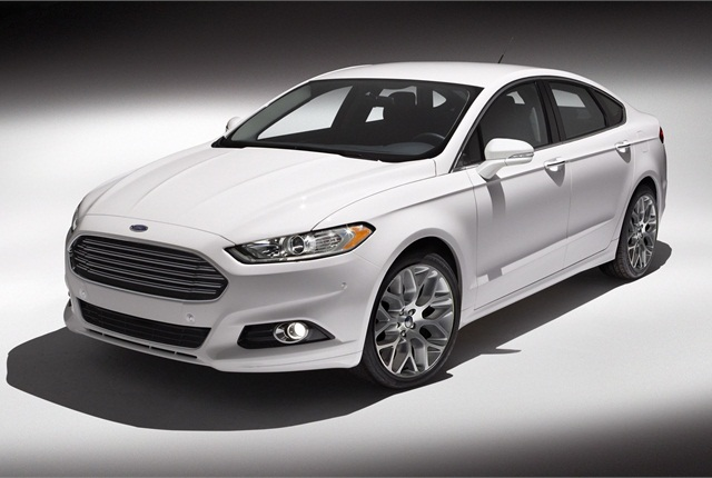 The new Fusion helps broaden the selection of fuel-efficient powertrains in the mid-size car segment with hybrid and plug-in hybrid alternatives ... : ford fusion car images - markmcfarlin.com