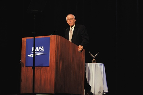 Jim Frank, CEO and president of Wheels Inc., which sponsors the Professional Fleet Manager of the Year award, speaks about the value of professional fleet management at the 2011 NAFA Institute & Expo.