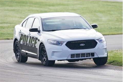 <p>Ford Police Interceptor. Photo: Michigan State Police</p>