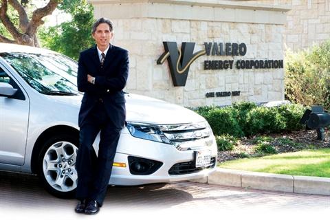 Randy Burwell, Valero's fleet administrator.