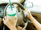 The Risks of Eating and Driving