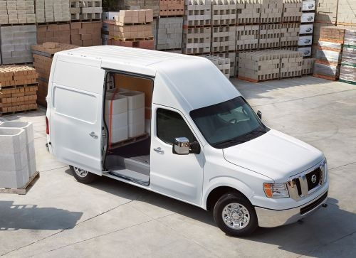 gallery the nissan nv cargo van is offered in three models with its standard making full size. Black Bedroom Furniture Sets. Home Design Ideas