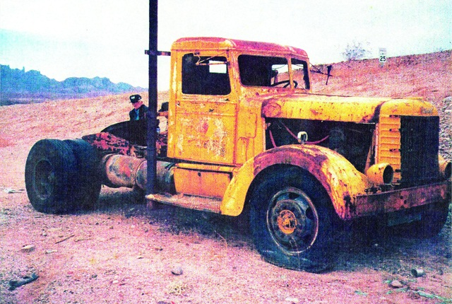 This 1939 Model 260 tractor, serial number 5010, was a rusty hulk sitting in an Arizona desert when restorer Bob Dean found it in the mid '90s. It was built for Kentner Truck Lines in San Francisco and ended up working in a quarry.