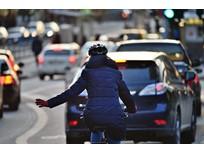 Training Fleet Drivers to Safely Navigate Bike-Friendly Cities