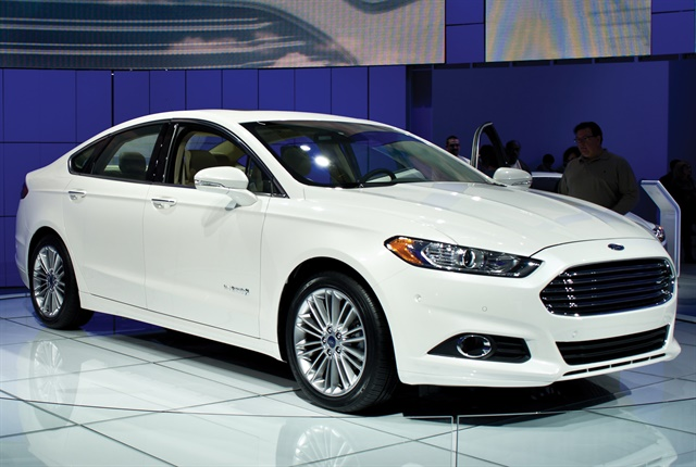 Ford Fusion Hybrids account for 78% of ADP's North American sales fleet. These vehicles achieve about 44 mpg in the city and 41 on highways. Photo courtesy of arvind govindaraj via creative commons
