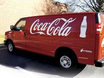 Coca-Cola's Hybrid Delivery Vans Bring Fuel Savings