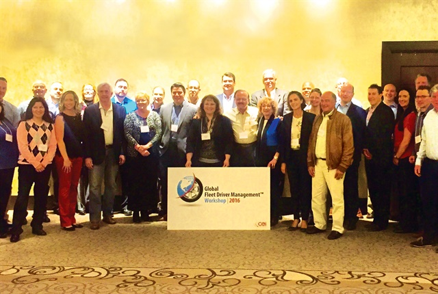 Photo of participants from the firs CEI Global Fleet Safety Workshop by Mike Antich.