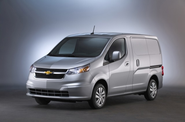 General Motor's small van offering for 2018 is the City Express with 122.7cubic feet of available cargo capacity. (Photo: GM)