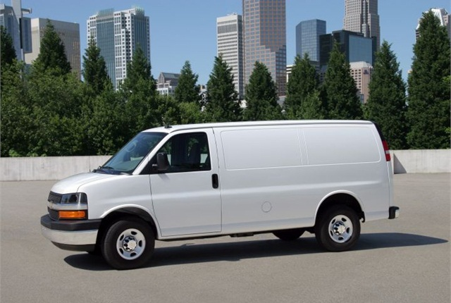 Photo of 2013 Chevrolet Express van courtesy of GM.
