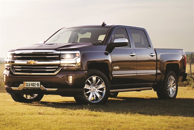 The Chevrolet Silverado is available in Chile with five available versions. Photo: GM.