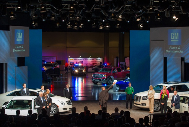 During the opening day business meeting at the Gaylord PalmsResort in Orlando, customers had the opportunity to learn from GM senior leaders and viewed the latest products.