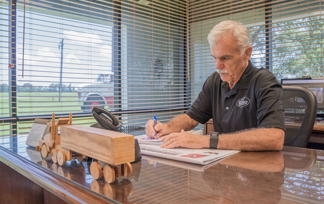 <p><strong>Kilpatrick brings more than 40 years in fleet management to the Alabama Trucking Associaiton.</strong> <em>Photo by Corey McDonald</em></p>