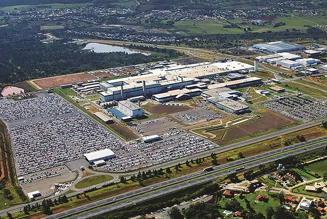The General Motors Gravataí facility, officially known as Complexo Industrial Automotivo de Gravataí (CIAG, for short, or Automotive Industrial Complex of Gravatai, in English). Photo: GM.