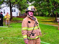Fleet Administrator Doubles As Fire Chief