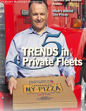 John Lamonica is president and CEO of Lamonica's Pizza Dough Co., and is the proud owners of three Kenworth trucks that deliver his pizza dough.