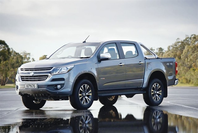 Sales of the Holden Colorado in New Zealand were way above its 2016 sales. Photo via Holden.