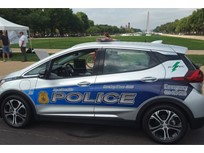 Chevrolet Bolt EV Patrol Car Hits the Streets in Md.