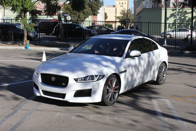 The 2017 Jaguar XE. Photo: Paul Clinton
