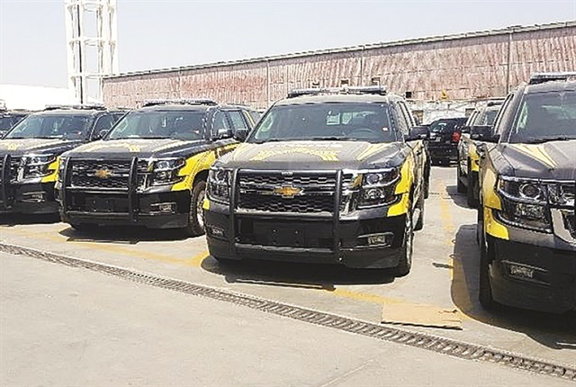 GM has also been successful in Kuwait fleet market with its full-size SUVs, which have been popular with the country's Ministry of Interior. The major responsibilities of the ministry are public security, and law and order. Photo: GM.