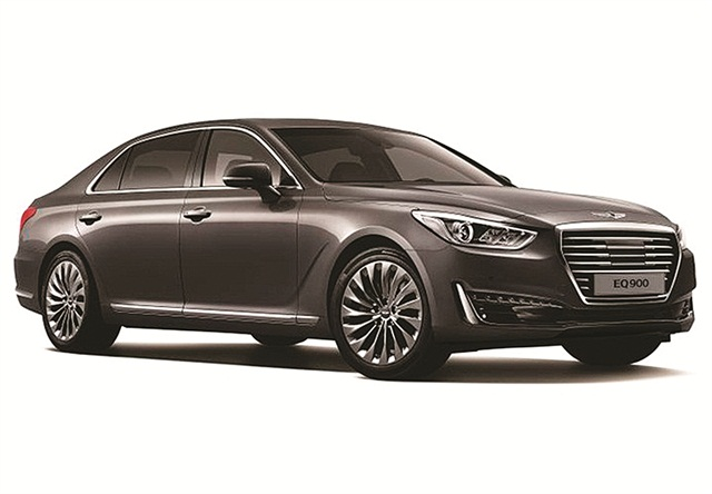 Photo of luxury sub-brand Genesis G90 sedan courtesy of Hyundai.