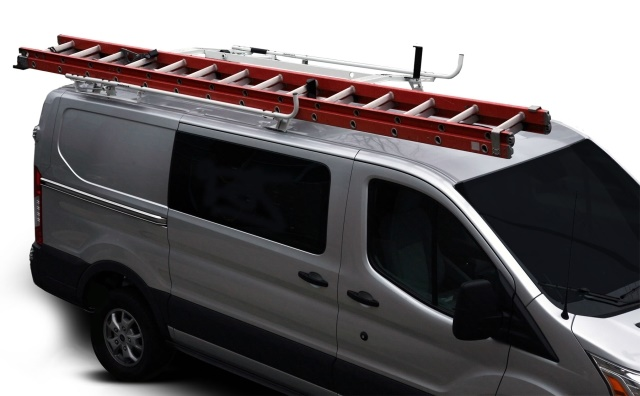Leggett & Platt Ladder Racks feature locking options to help prevent theft, and only feature one moving part for ease of maintenance. (Photo: Leggett & Platt)