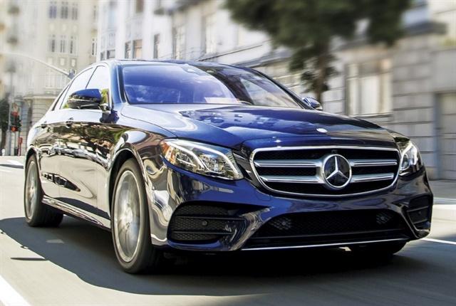 Photo of the Mercedes-Benz 2017 E-Class courtesy of Mercedes-Benz.