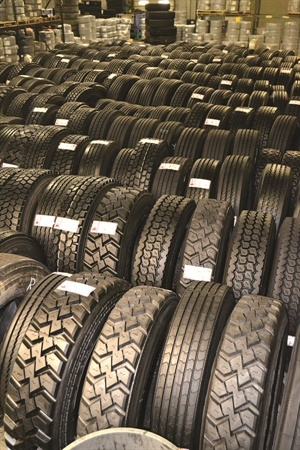 Retreading accounts for about 16% of Ziegler Tire's business. Photo: Ziegler Tire and Supply