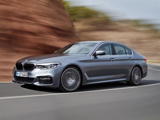 BMW 5 Series sedan M Sport, photos courtesy of BMW
