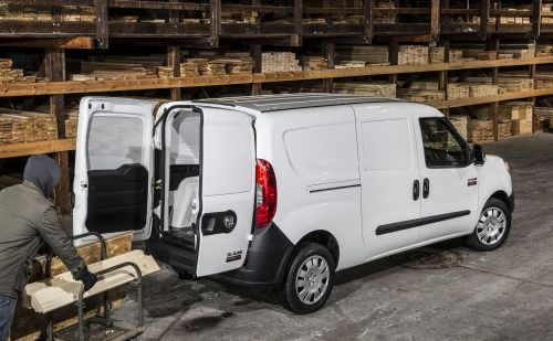 The ProMaster City is Ram's Class 1 van offering available in four versions and featuring a standard, 9-speed automatic transmission. (PHOTO: FCA US)