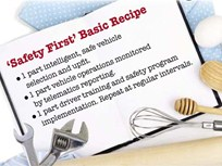 Creating a Recipe for Safe Driving
