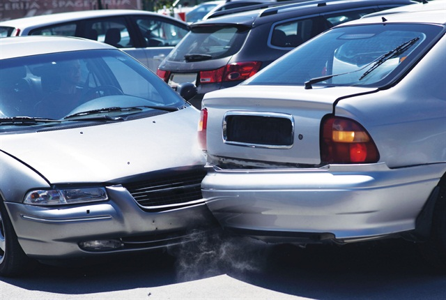 About 14 percent of all vehicle collisions that result in damage occur in parking lotsm according to the Insurance Institue for Highway Safety (IIHS). Photo via istock.com