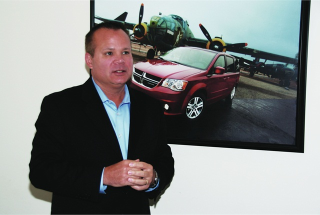 "Jim Sassorossi is very bullish about Chrysler's long-term outlook for the commercial fleet market. ""Knowing our product pipeline, I'm confident we will be able to compete on the product side. As you know, our competition is very tough and we need to push for new frontiers on delivering hassle-free levels of service for our customers,"" he said."