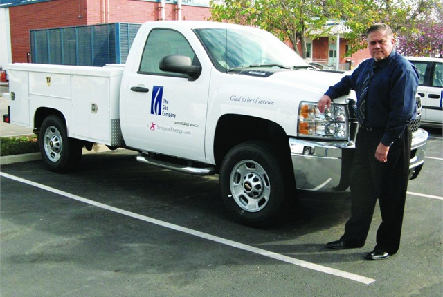 Tony Orta, fleet asset manager for SoCalGas Company, manages a fleet of 5,536 vehicles, comprised mostly of light- and medium-duty vehicles.