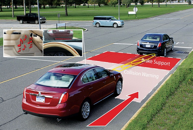 Photo showing an avoidance collision system courtesy of iStockphoto.com.
