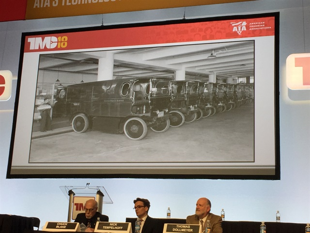 Maintenance techniques that worked in UPS' electric vehicle fleet in the 1930s wouldn't be applicable today. Photo: Deborah Lockridge