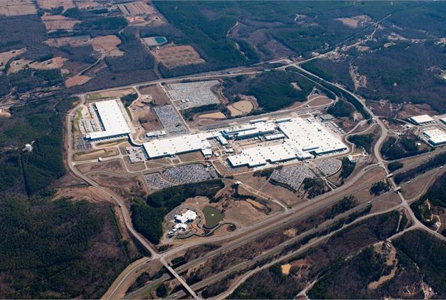 Photo of the Tuscaloosa, Ala., plant courtesy of MBUSA.