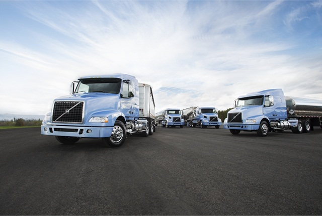 The Bulk-hauling Optimized series also includes shorter VNM tractors that, like VNL versions, come as a daycab and several sleeper types.