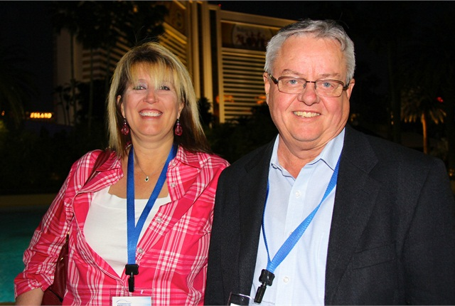 Gallery Lynda Dinwiddie Of Labcorp And Mike Sims Of The