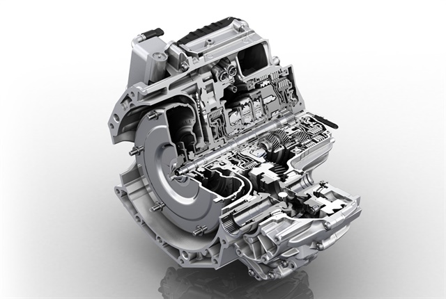 Photo of the ZF 9HP courtesy of ZF Friedrichshafen.