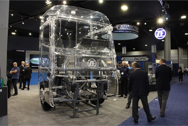 <p><strong>ZF is leveraging technologies from around the world to make commercial vehicles safer, Mitja Schulz said in an exclusive interview with HDT. </strong><em>Photo: Jack Roberts</em></p>