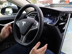 Photo of Tesla's Autopilot mode via Joshua Brown/YouTube.