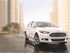 The Ford Fusion mid-size sedan features several technology enhancements for the 2016 model-year, including a redesigned center stack. Photo courtesy of Ford.