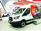 As commercial fleets move to the new Euro-style cargo vans, they have many more interior options to consider. This has a downstream effect on other changes, involving other components, such as ladder racks, due to the different roof-height configurations. (PHOTO: CHRIS WOLSKI)