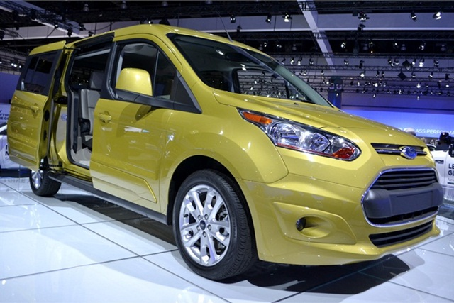 The 2014 Ford Transit Connect Wagon may find a unique home in between a family hauler and small business van.