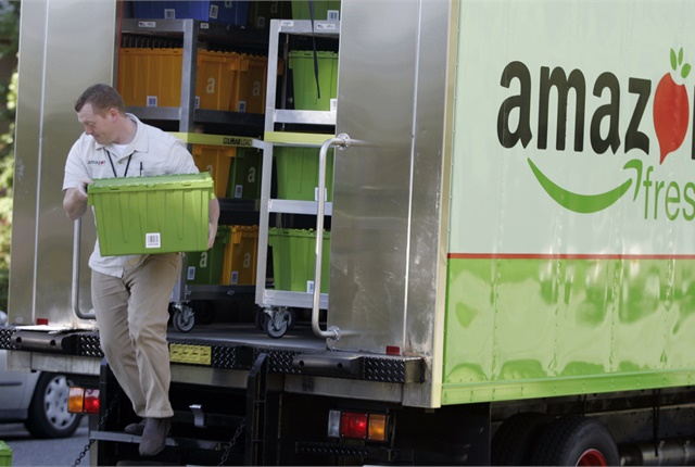 <p><strong>A move into the P&D business by Amazon would hurt other delivery fleets. But the real impact on trucking would be much more profound. </strong><em>Photo: Amazon</em></p>