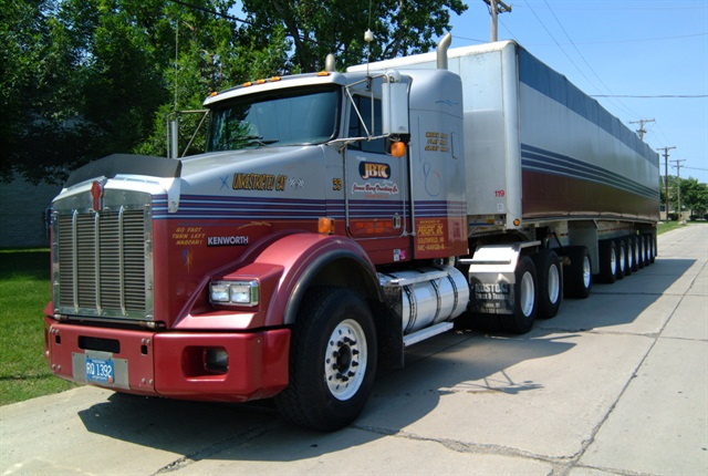 James Burg Trucking emphasizes productivity and efficiency, with innovative lightweight specs.