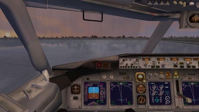 (Flight Simulator X screen grab by Jim Park)