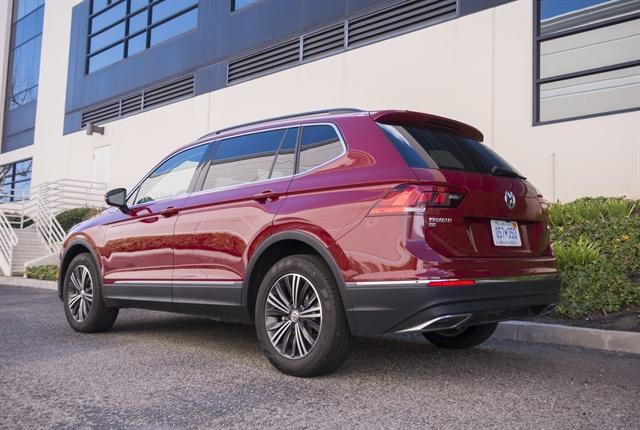Photo of 2018 Volkswagen Tiguan's exterior by Vince Taroc.